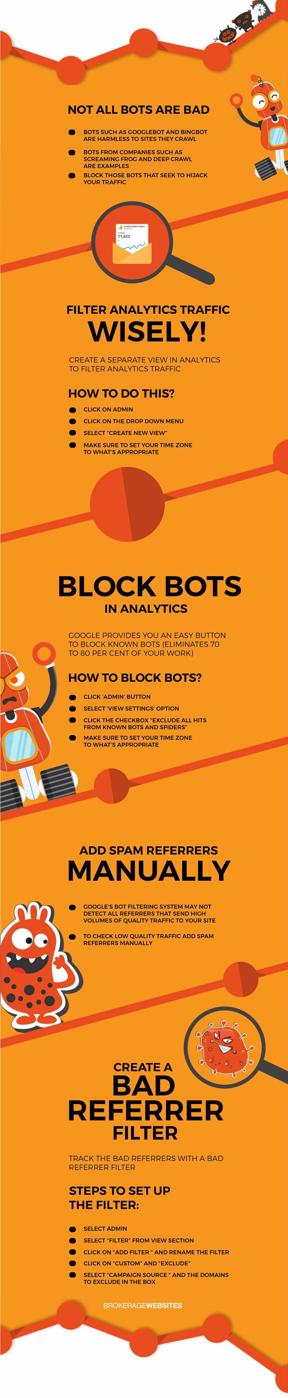 How to Filter Bot Traffic in Google Analytics | Website